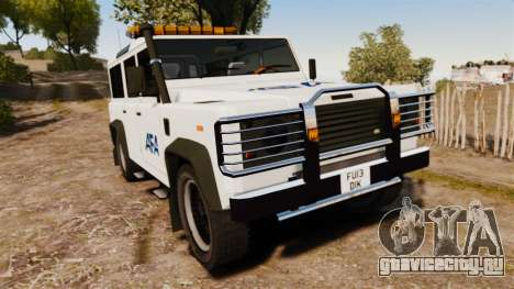 Land Rover Defender AFA [ELS] для GTA 4