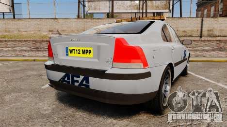 Volvo S60 AFA [ELS] для GTA 4 вид сзади слева