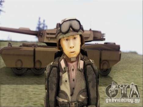 Солдат Китайской Народной Республики для GTA San Andreas второй скриншот
