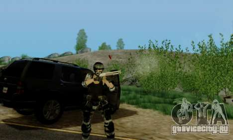 SWAT GIRL для GTA San Andreas пятый скриншот