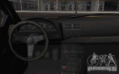 GTA IV Sultan для GTA San Andreas вид справа