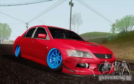 Mitsubishi Lancer MR Edition для GTA San Andreas