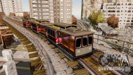 Трамвай из San Andreas для GTA 4 второй скриншот