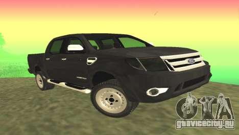 Ford Ranger Limited 2014 для GTA San Andreas