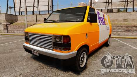 Brute Pony FedEx Express для GTA 4