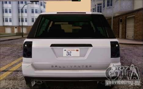 Tuned Gallivanter Baller из GTA V для GTA San Andreas