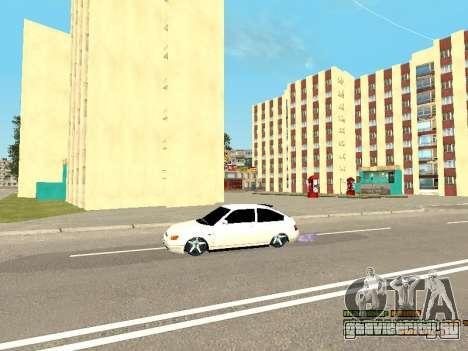 ВАЗ 21123 для GTA San Andreas вид сбоку