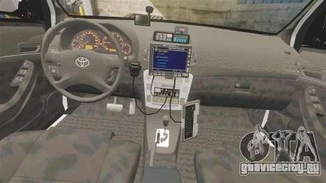 Toyota Hilux Police Western Australia для GTA 4 вид сзади
