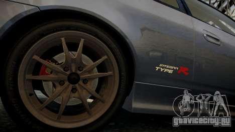 Honda Mugen Integra Type-R 2002 для GTA 4 вид сзади