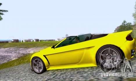 GTA V Rapid GT Cabrio для GTA San Andreas вид слева