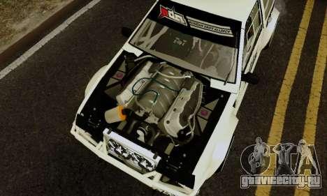 ВАЗ 2108 RDA для GTA San Andreas вид сзади