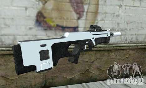 F6 Assault Rifle для GTA San Andreas второй скриншот