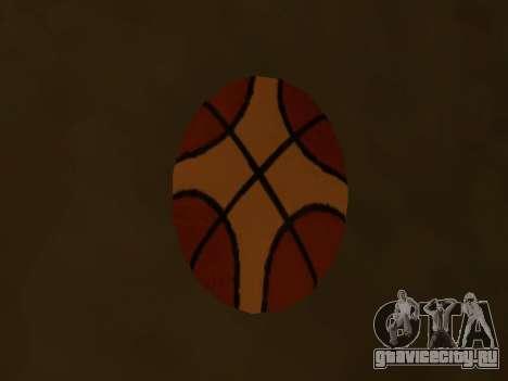 Новый баскетбольный мяч фирмы Molten для GTA San Andreas