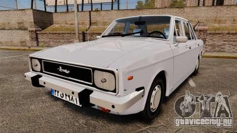 IKCO Paykan 1970 для GTA 4