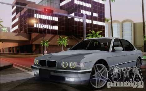 BMW 730d для GTA San Andreas
