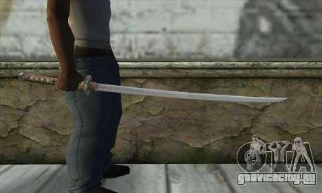 Меч для GTA San Andreas третий скриншот