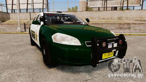 Chevrolet Impala 2010 Broward Sheriff [ELS] для GTA 4