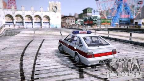 Daewoo FSO Polonez Caro Fire для GTA 4 вид справа