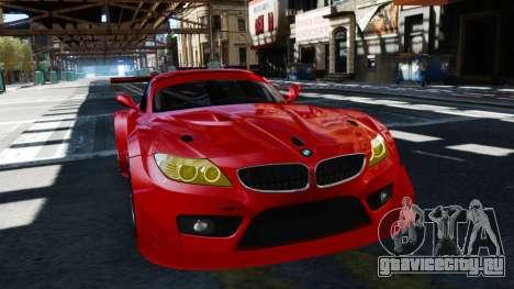BMW Z4 GT3 2012 для GTA 4