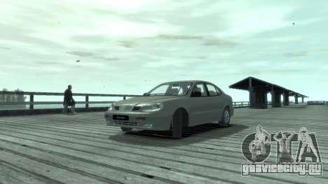 Daewoo Leganza для GTA 4 вид слева