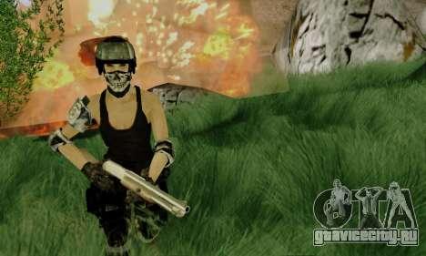 SWAT GIRL для GTA San Andreas второй скриншот