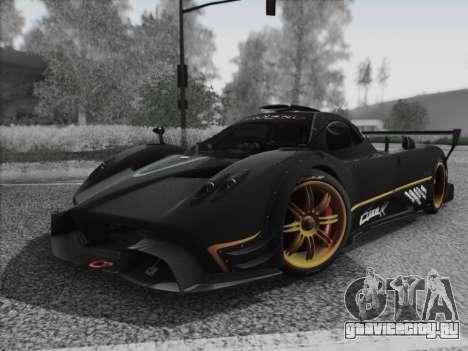 Pagani Zonda R 2009 для GTA San Andreas