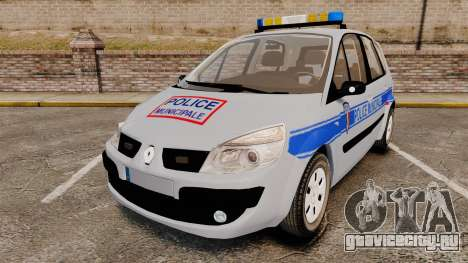 Renault Scenic Police Municipale [ELS] для GTA 4