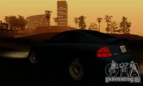 Fusilade GTA V для GTA San Andreas вид сверху