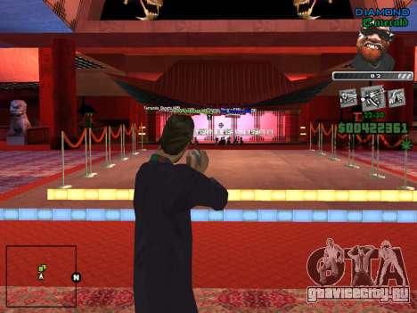 C-HUD by Misterio для GTA San Andreas четвёртый скриншот