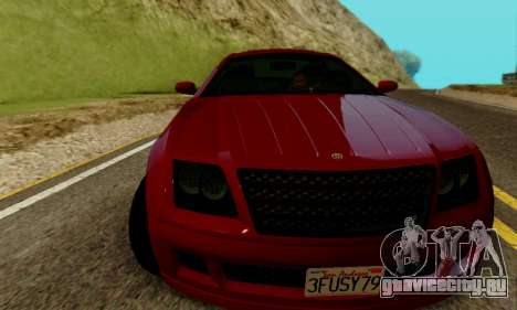 Fusilade GTA V для GTA San Andreas вид слева