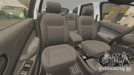 Ford Mondeo IV Wagon Police Nationale [ELS] для GTA 4