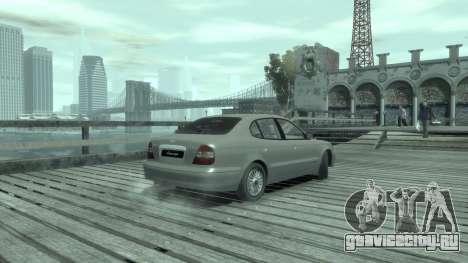 Daewoo Leganza для GTA 4 вид справа