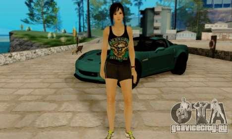 Kokoro A7X для GTA San Andreas четвёртый скриншот