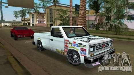 Bobcat Turbo для GTA Vice City вид сзади слева