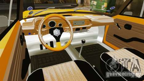 Volkswagen SP2 для GTA 4 вид сзади