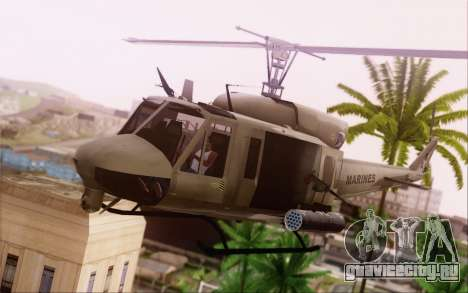 Bell UH-1N Twin Huey для GTA San Andreas