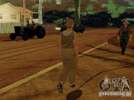 Пожилая женщина для GTA San Andreas четвёртый скриншот