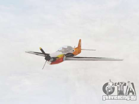 Embraer T-27 Tucano 30 Anos для GTA San Andreas