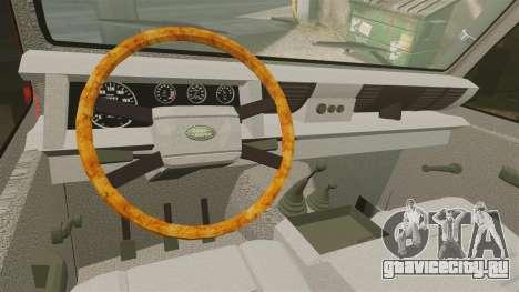 Land Rover Defender VLHR SDIS 42 [ELS] для GTA 4 вид сзади