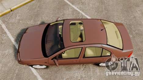 Volkswagen Bora 1.8T Camel для GTA 4 вид справа