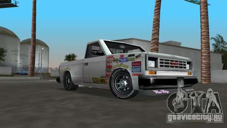 Bobcat Turbo для GTA Vice City вид слева