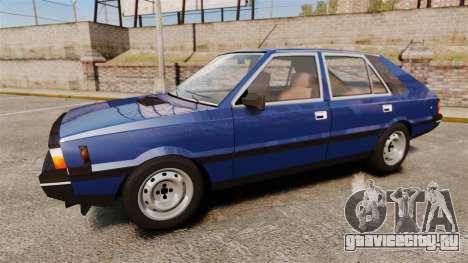 FSO Polonez 1500 для GTA 4 вид слева
