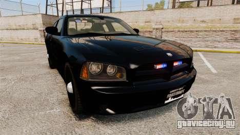 Dodge Charger Slicktop Police [ELS] для GTA 4