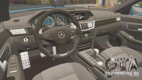 Mercedes-Benz B63 S Brabus для GTA 4 вид изнутри