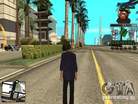 C-HUD by Misterio для GTA San Andreas второй скриншот