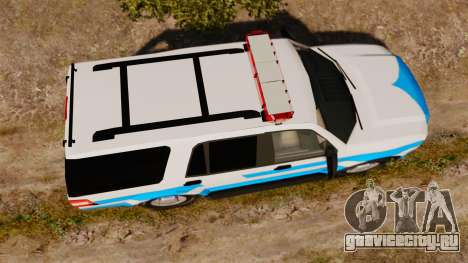 Ford Expedition Japanese Police SSV v2.5F [ELS] для GTA 4 вид справа