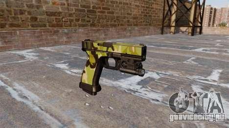 Пистолет Glock 20 WoodLand для GTA 4