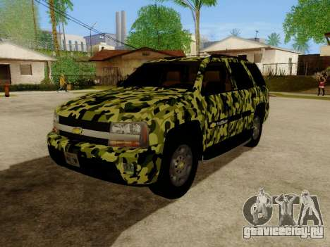 Chevrolet TrailBlazer Army для GTA San Andreas