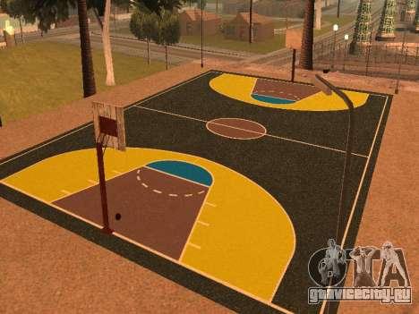 Новая баскетбольная площадка для GTA San Andreas второй скриншот