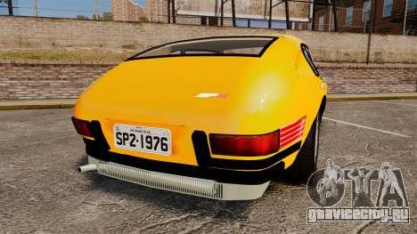 Volkswagen SP2 для GTA 4 вид сзади слева
